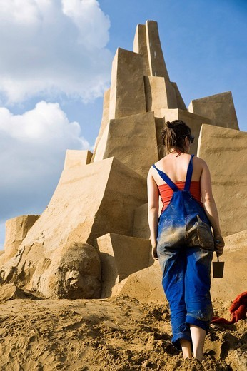 Stock Photo: 1848-236220 Sandsation, Sand Sculpture Festival in Berlin_Mitte, Germany, Europe