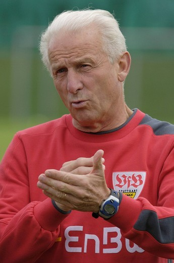 Stock Photo: 1848-23751 Coach Giovanni TRAPATTONI