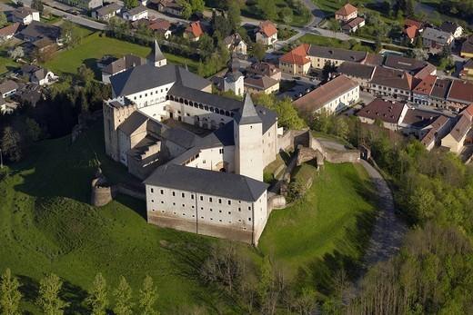 Strassburg Castle, Carinthia, Austria, Europe : Stock Photo