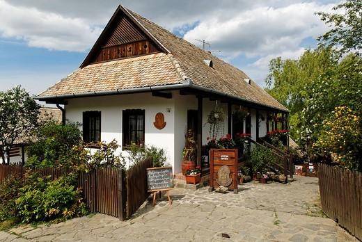 Historic village of Hollokoe, Unesco World Heritage Site, Hungaria : Stock Photo