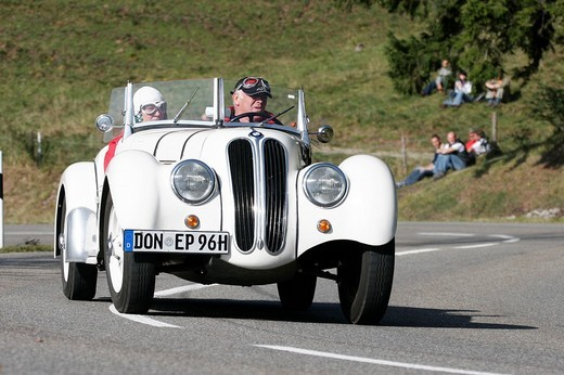 BMW 328 Roadster, built 1939 : Stock Photo