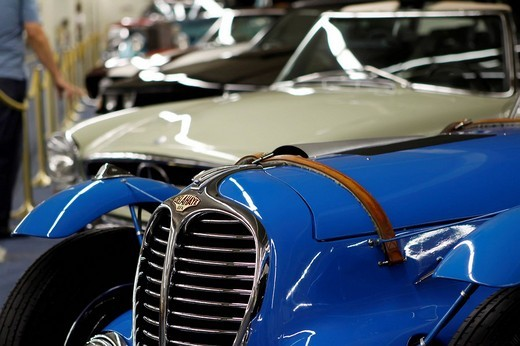 Vintage cars, Auto Collection in Imperial Palace Hotel, Las Vegas, Nevada, USA : Stock Photo
