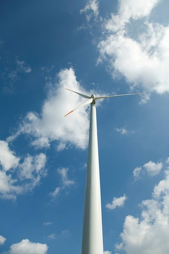 Stock Photo: 1848-241041 Wind turbine