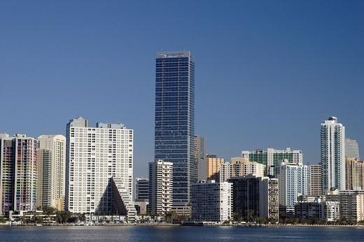 Skyline at Miami, Florida, USA : Stock Photo
