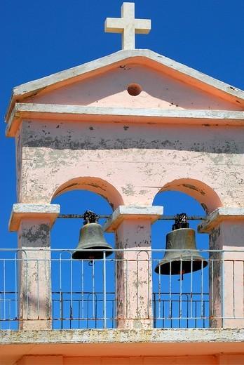 Belfry, Kefalonia, Ionian Islands, Greece : Stock Photo