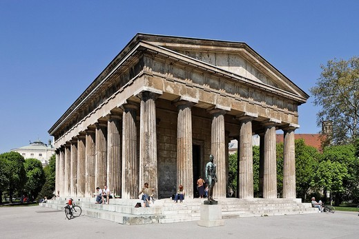 Theseus Temple at the Volksgarten, Vienna, Austria, Europe : Stock Photo