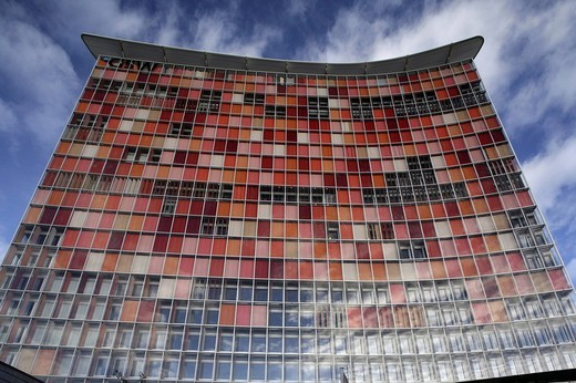 GSW multistory building, Kreuzberg, Berlin, Germany, Europe : Stock Photo