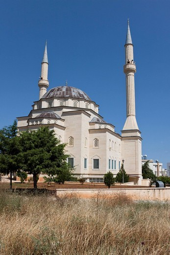 Stock Photo: 1848-244167 Mosque on the outskirts of Kyrenia, also known as Girne, Northern Cyprus, Cyprus, Europe