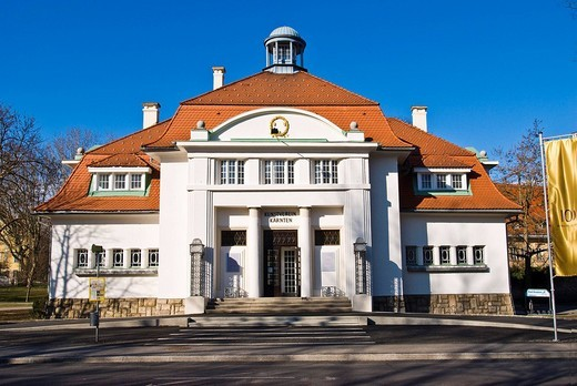 Artists´ House, Art Society, Klagenfurt, Carinthia, Austria : Stock Photo
