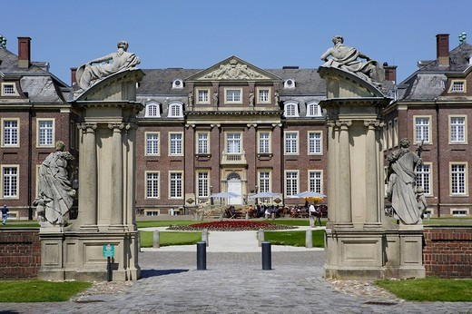 Stock Photo: 1848-246132 Schloss Nordkirchen Palace, North Rhine_Westphalia, Germany, Europe