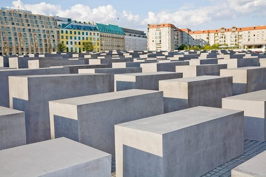 Stock Photo: 1848-246682 Holocaust memorial in Berlin, Germany