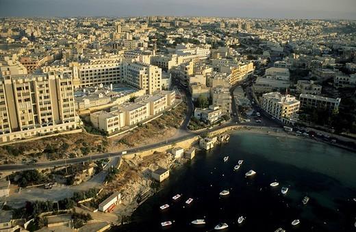 View over Valetta, La Valetta, capital of Malta, Unesco World Heritage Site : Stock Photo