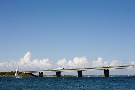 Stock Photo: 1848-247553 Fehmarnsundbruecke Bridge, Baltic Sea, Schleswig_Holstein, Germany, Europe