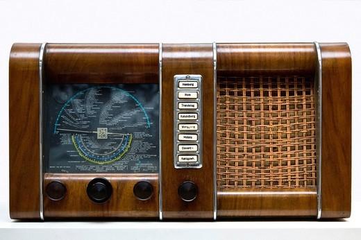 Old B&O radio : Stock Photo