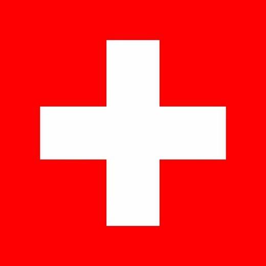 Stock Photo: 1848-248977 The flag of Switzerland _ graphic