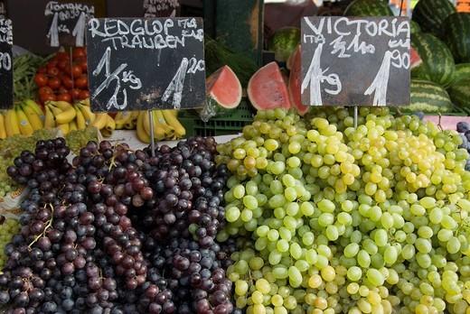 Naschmart markets, Vienna, Austria, Europe : Stock Photo