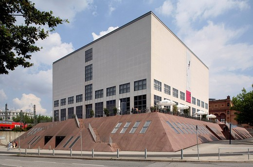 Stock Photo: 1848-25055 Kunsthalle, Gallery of Modern Art, Hamburg, Germany, Europe