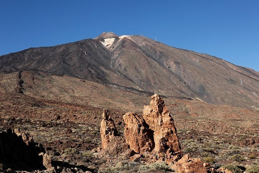 Teide Volcano, Canadas del Teide National Park, Tenerife, Canary Islands, Spain, Europe Tenerife, Canary Islands, Spain, Europe : Stock Photo