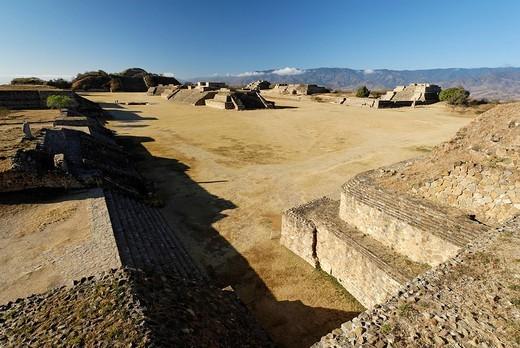 Stock Photo: 1848-252714 Monte Alban, Oaxaca, Mexico