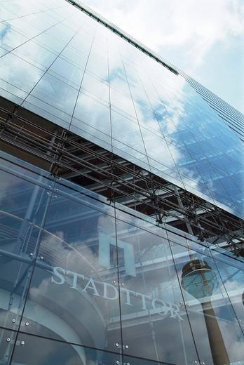 Stadttor Building, Duesseldorf, North Rhine_Westphalia, Germany : Stock Photo