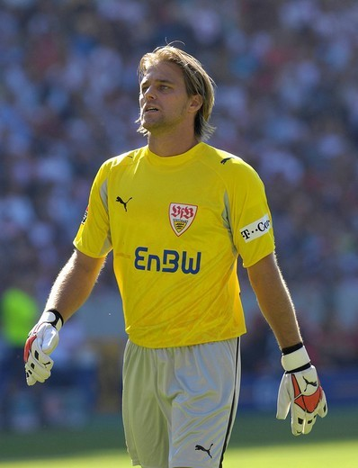 Goalkeeper Timo HILDEBRAND VfB Stuttgart : Stock Photo