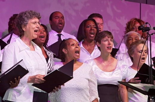 The Pittsburgh Gospel Choir, Pittsburgh, Pennsylvania, USA : Stock Photo