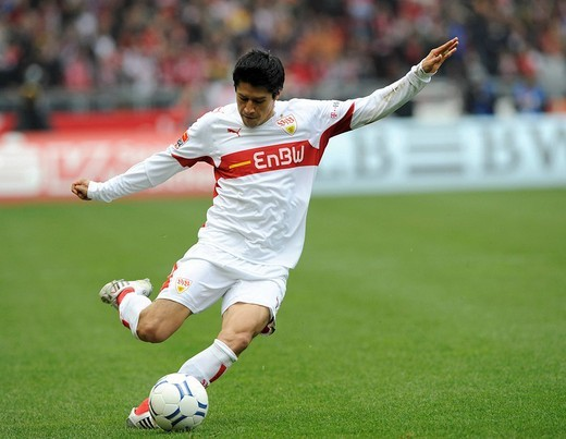 Stock Photo: 1848-2564 Pavel Pardo, VfB Stuttgart football club footballer
