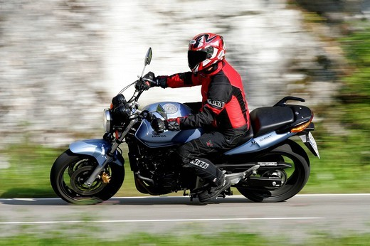 Stock Photo: 1848-256434 Honda CBF 600 motorcycle