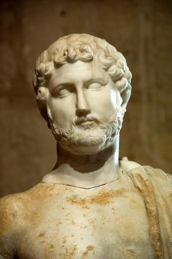 Stock Photo: 1848-258566 Roman museum, Castell de Bellver, Palma de Mallorca, Majorca, Balearic Islands, Spanien