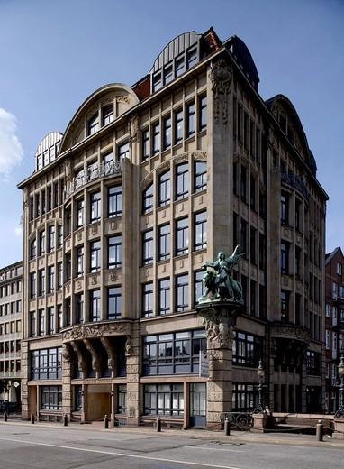 Haus der Seefahrt, Seafarers´ Building, Hamburg, Germany, Europe : Stock Photo