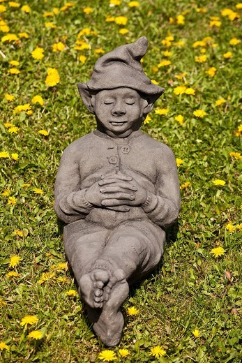 Stock Photo: 1848-261905 Sleeping goblin figure