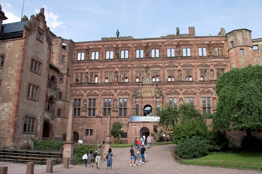 14.07.2005, Heidelberg, DEU, Heidelberg Castle : Stock Photo