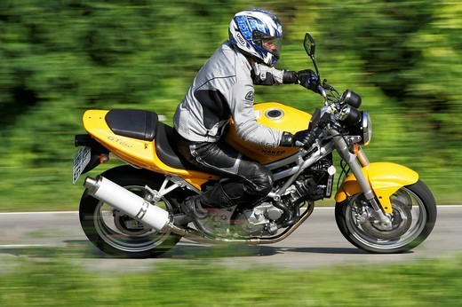 Hyosung GT 650 motorcycle : Stock Photo