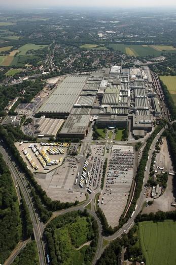 Aerial photo, Bochum, Opel factory 1, Langendreer, Bochum, Ruhr area, North Rhine_Westphalia, Germany, Europe : Stock Photo