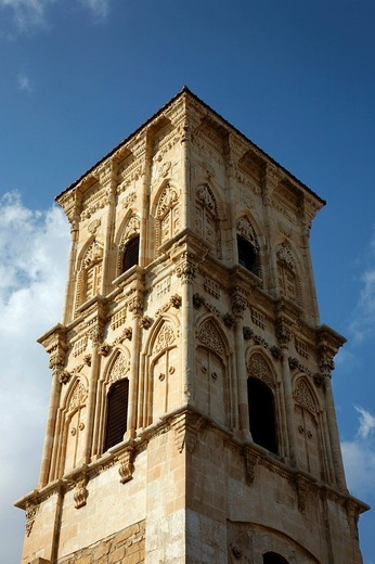 Stock Photo: 1848-263701 Church tower of the Lazarus Church, Larnaca, Cyprus, Asia