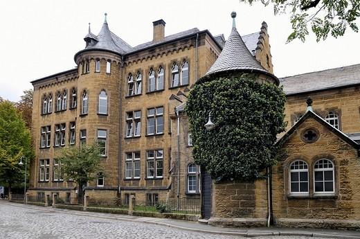 Historic building, historical city centre of Goslar, UNESCO world heritage site, Eastphalia, Germany : Stock Photo