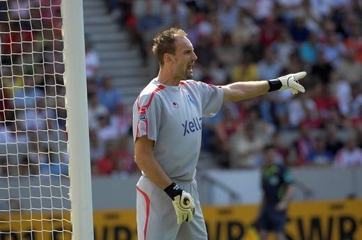 Tom STARKE goalkeeper MSV Duisburg : Stock Photo