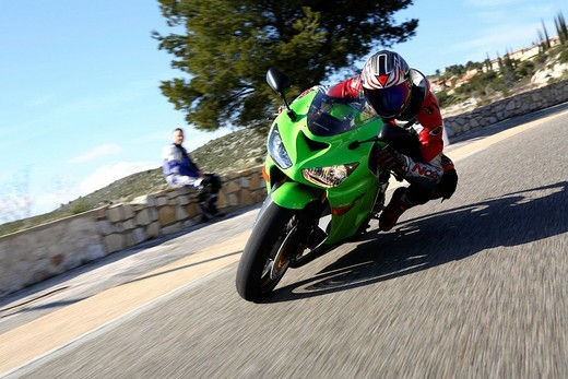 Kawasaki Ninja ZX_6R 636 : Stock Photo