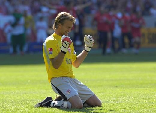 Goalkeeper Timo HILDEBRAND VfB Stuttgart : Stock Photo