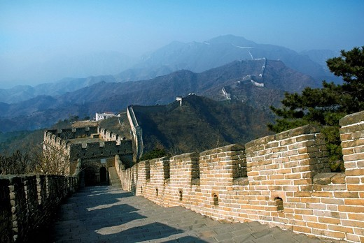 Great Wall of China, Asia : Stock Photo