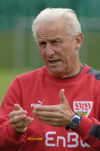 Stock Photo: 1848-270391 Coach Giovanni TRAPATTONI