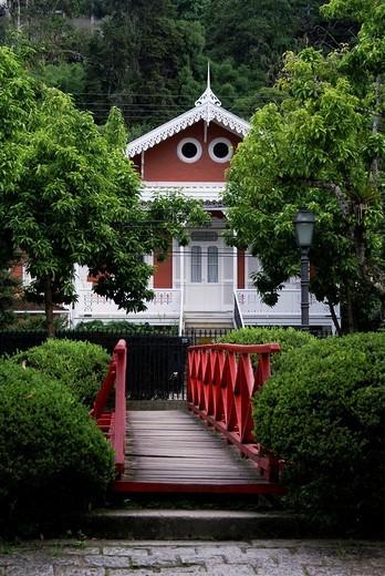 Villa in Petropolis, Rio de Janeiro, Brazil : Stock Photo