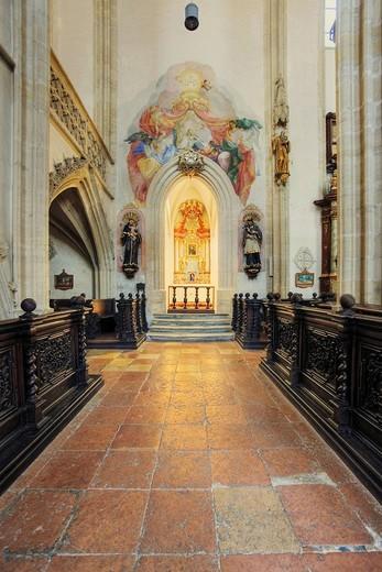 Piaristen Church in Krems, Wachau Region, Waldviertel Region, Lower Austria, Austria : Stock Photo