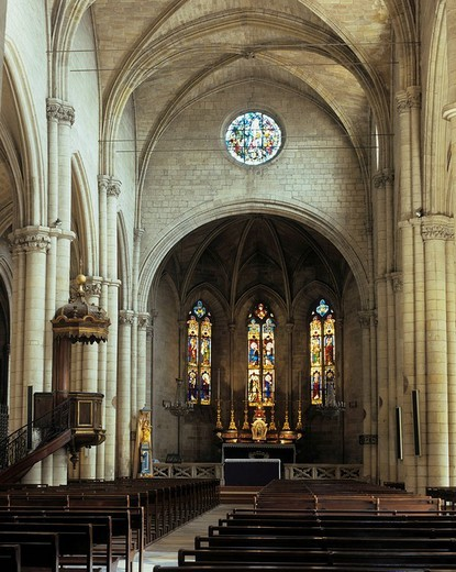 Church in Tarascon, Provence, France : Stock Photo