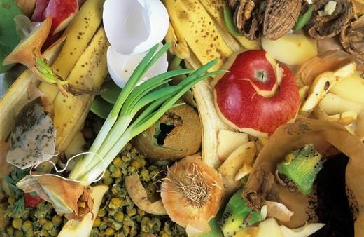Stock Photo: 1848-30335 Organic kitchen waste, biodegradable