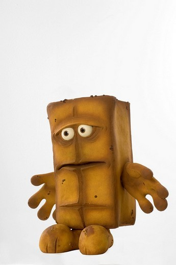 Stock Photo: 1848-30632 TV doll: Bernd the bread