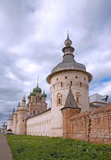 Stock Photo: 1848-31736 Kremlin, Rostov, Russia