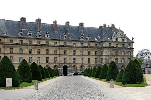 Les Invalides, Paris, France : Stock Photo