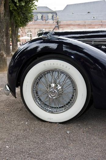 Stock Photo: 1848-37850 Talbot Lago T 26 Record Cabriolet Worblaufen, CH 1947, Vintage Car Gala, Schwetzingen, Baden Wuerttemberg, Germany