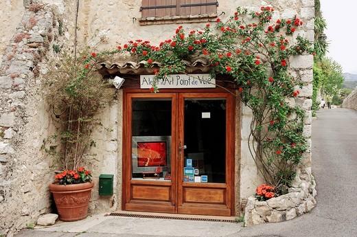 Shop, Saint_Paul de Vence, Alpes_Maritimes, Provence_Alpes_Cote d´Azur, Southern France, France, Europe : Stock Photo